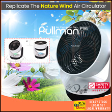 [▼-48% ]PULLMAN AIR CIRCULATOR FAN TURBO FORCE With Remote Control
