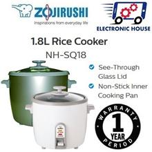 ★ Zojirushi NH-SQ18 1.8L Rice Cooker ★ (1 Year Singapore Warranty)