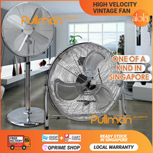 [10.10 SALE ▼79%] PULLMAN® HIGH VELOCITY FULL POWERED™ Vintage Fan 2018★More choices inside..