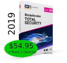 Bitdefender Total Security 2019 (3 Years 3 Devices) Product Key Only - by Bitdefender SGP partner
