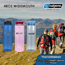 Nalgene® 48oz Widemouth Bottles - Made in USA - Warranty Covered