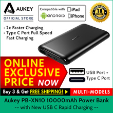 AUKEY [PB-XN10] USB C 10000mAH Powerbank 18 Months Local Warranty
