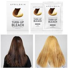 APRIL SKIN Turn Up Bleach  ❤ Minimize Hair Damage ❤ Hair Dye/Hair Color/Hair Bleach