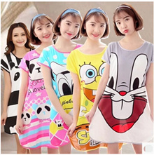 Soft cartoon pyjamas/short sleeve/pyjamas/dress/short Sleeve Pyjamas/comfort soft