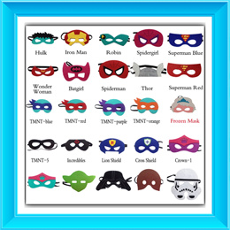 NEW DESIGNS ADDED: SUPERHERO/STARWARS MASK/FROZEN ELSA/MY LITTLE PONY/TRANSFORMER MASKS FOR KIDS/PARTY ACCESSORIES/ROLE PLAYING