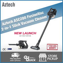 Aztech ASC280 FusionVac 2 in 1 Stick Vacuum Cleaner  | 1 Year Local Warranty