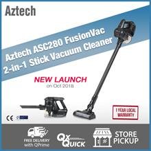 Aztech ASC280 FusionVac 2 in 1 Stick Vacuum Cleaner  | 1 Year Local Warranty