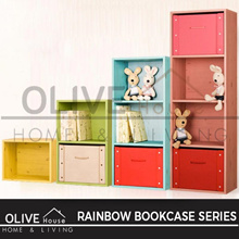 [NEW PRODUCT] RAINBOW BOOKCASE ALL SIZE