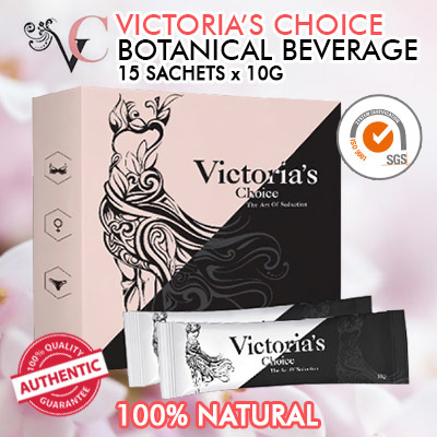 *NEW* 100% Natural Victoria Choice Botanical Beverage (Womens Health /  Breast Enhancement ) 15 x 10