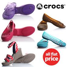 [CROCS]※ALL FLAT PRICE※ 23 type Best item Big Sale  /crocs / sandals /