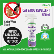 Bio-D Cat and Dog Repellent Spray (ideal for strays or pets)