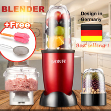 ⚡Free 3 Gifts⚡Blend Ice❤BAP FREE❤Nutri Blender Multifunction Smoothie Juicer/Mixer/Meat maker