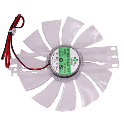 1pcs DC 12V Brushless Fan Chicken Incubator Accessories Cooling Fan  Transparent Color Plastic
