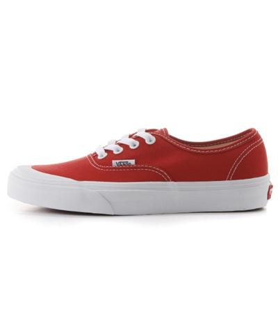 6835c93c6f0 Qoo10 - (VANS) Authentic 138 - (Canvas) racing red true white ...
