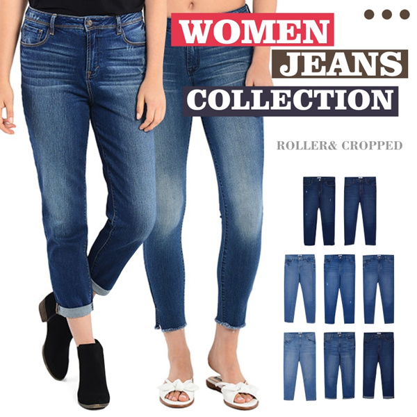 New Collection! Women Denim Skinny Jeans Deals for only Rp89.000 instead of Rp89.000