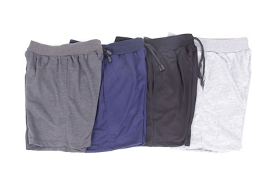 Pendek Adem 4 warna (short pants 4 pcs 4 color)