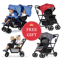 Double/Twin Strollers Stroller baby carrier