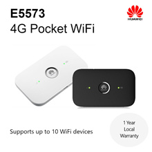 Huawei E5573 4G LTE Cat4 Pocket WiFi / DL 150Mbps/UL 50Mbps / Local Warranty