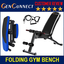 ⏰FOLDABLE Gym Bench! Restocked! Heavy Weight💪 WORKOUT GYM BENCH SIT UP PULL UP BENCH Dumbbell Press