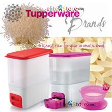 TUPPERWARE RiceSmart 10kg Rice Smart  [ Red / Pinky Purple] Kitchen Storage Dispenser House Warming