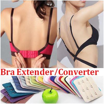 f5198b31f3f01 Bra Extender Bra Accessories Cleavage Control Clip Transparent Bra strap Low -Back