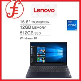 LENOVO IP 15.6 Touchscreen Laptop 11th Gen Intel Core i7-1165G7 1080p 12GB RAM 512GB SSD WIN 10 (82F