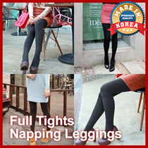 NEW Full Tights Women Lady Winter Napping Leggings Fleece Lined Waffle Stockings Colorful Warm Pants