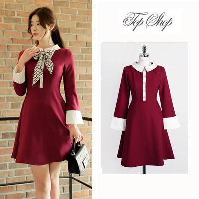 Chicline Clic O 47 S Xl Size Korean Dress