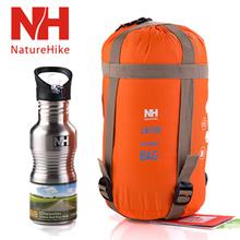 NatureHike Mini Ultralight Multifuntion Portable Outdoor Waterproof Envelope Sleeping Bag Travel Bag Hiking Camping Equipment 700g 5 Colors
