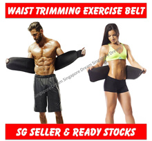 Sweat Waist Trimmer Belt / Slim Slimming Lift Body Corset Shirt Sports Sauna Tummy For Men And Women