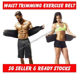 Sweat Waist Trimmer Belt / Slim Slimming Lift Body Corset Shirt Sports Sauna Tummy For Men And Women