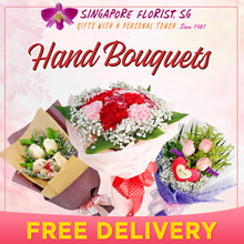 [Happy Mother Day][Singapore Florist] Hand Bouquets. Free Next Day Delivery