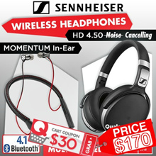 Super Sales Events! Sennheiser HD 4.5 BTNC Wireless Bluetooth Headphones . Local Stocks!