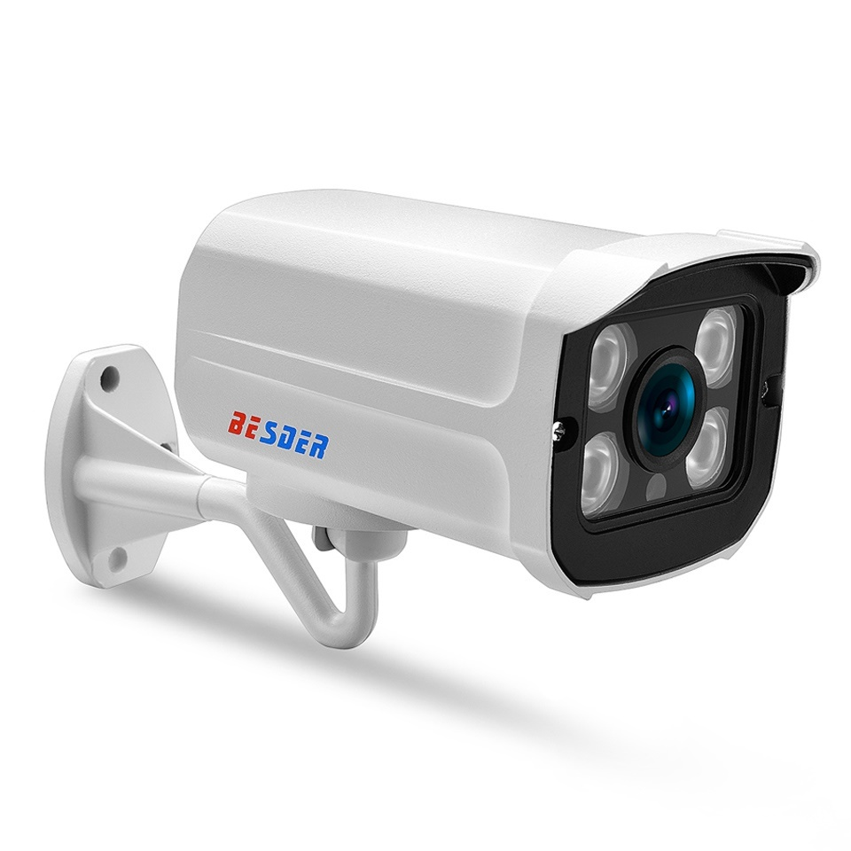 factory BESDER Wide Angle 2 8mm 720P 960P 1080P IP Camera Waterproof  Surveillance P2P RTSP Bullet CC