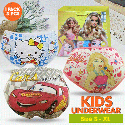 Fantasia Kids Underwear Collections Deals for only Rp39.000 instead of Rp39.000