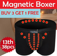 【BUY 3 GET 1 FREE】 26/38 PCS 10th /13th Gen Vince Klein Healthy Underwear / Magnetic Brief for Men