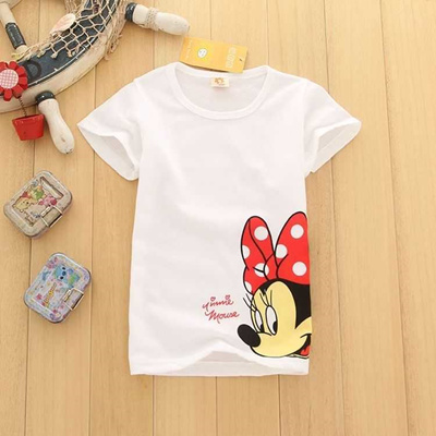 7d6ed9d5ed9e8 discount 2019 Hotsale Cheap Summer Kids Baby Girls Clothes Short Sleeve  Cotton T-shirt Children