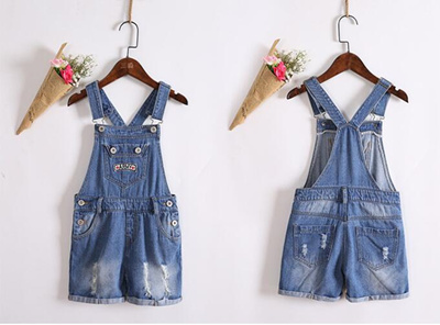 97947fd80 COUPON; store Rlyaeiz 2018 Summer Kids Baby Girl Overalls Denim Jeans  Shorts Casual Clothes Suspender Short
