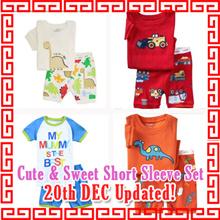 Children Top n  Bottom Short Sleeve Set/T shirt/shorts/Tee Shirt/T-shirt/Boys Top/Girls/Kids Clothes
