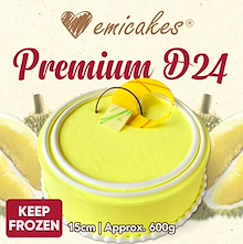 [Emicakes] Premium D24 Durian Cake | 15cm and 20cm sizes available