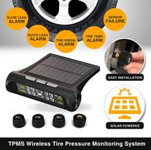 ★SG WARRANTY★GENUINE★2018★New Solar Power TPMS Wireless Tire Pressure Monitoring System★Tyre TPMS