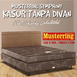 ( FREE SHIPPING JABODETABEK ) Kasur HARGA TERMURAH!  Musterring Symphony Tebal 17 Cm Size : 160x200 Kasur Tanpa Divan/Sandaran