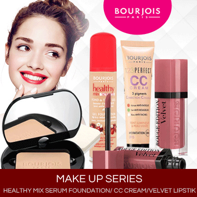 Bourjois make-up series Deals for only Rp175.000 instead of Rp175.000
