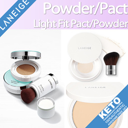 [LANEIGE]Brush pact/light fit powder/pact/fit cushion