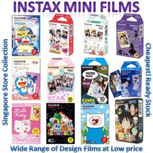 Cheapest!♥Little Twin Stars♥One Piece♥Rilakkuma Elmo Instax Mini Film For Mini 8 7s 25 50 90