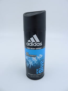 Adidas Men Ice Dive 24 Hours Deodorant Body Spray 150ML X 3 Deodorants
