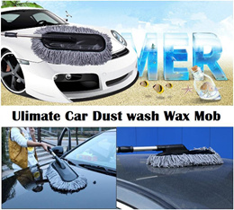 Multi-Purpose Telescopic Washing Mop/Car Wash Brush Duster Wax Mop/Home Floor Cleaning Mob Duster