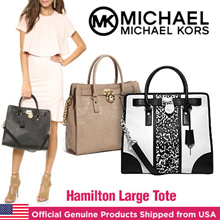 New Arrival Michael Kors Hamilton Large Tote//Official Genuine Products Shipped from USA