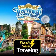 Sunway Lost World of Tambun + Hot Spring  Spa E-Ticket
