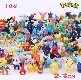 Pokemon Action Figures | 144pcs/set | 100pcs/set | 21pc/set | Pokemon Characters Pikachu | Figurine